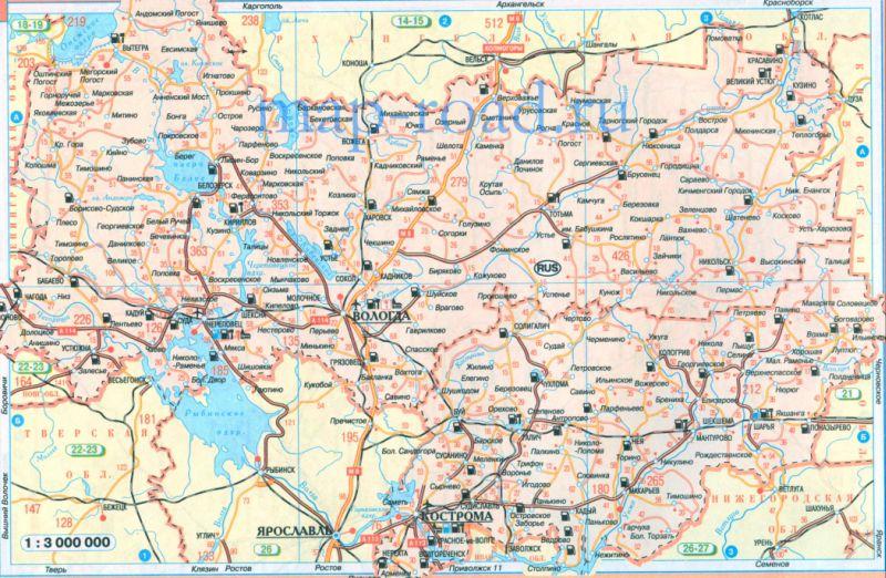 Карты дорог россии скачать